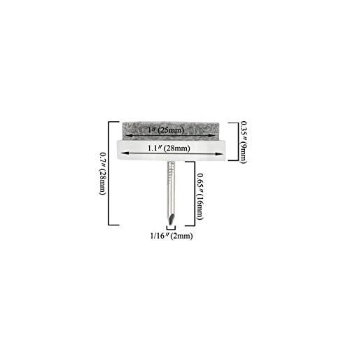 3 x 1-1//4 Chrome ,Safety Locking Hasp w//Screws for Door Cabinet,Key Different TOVOT 4 Pack Keyed Hasp Locks -Twist Knob Keyed Locking Hasp