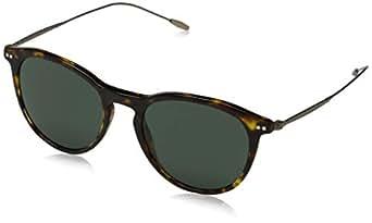 ARMANI Men's 0AR8108 502671 51 Sunglasses, Havana/Green