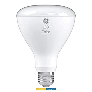 LED+ White Light Color Changing Light Bulb, BR30, 65-Watt Replacement, Soft White/Daylight, LED Light Bulb with 2 Color Options