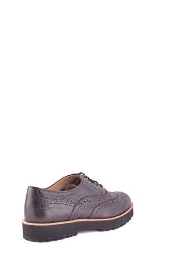 Hogan Mujer MCBI148301O Marrón Cuero Zapatos De Cordones