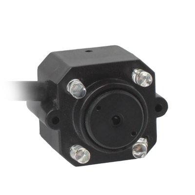 Home & Security Cameras 1/4 CMOS 4 LED Color 380TVL Mini Camera, Mini Pin Hole Lens Camera