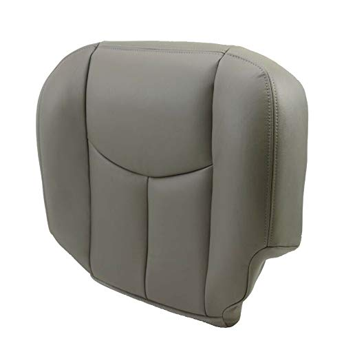 - ECOTRIC New Leather Diver Seat Cover 922 Pewter for 2003 2004 2005 2006 Chevy Tahoe Suburban GMC Yukon