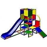 Moveandstic 6009 - Spielturm JULIAN mit 2 Rutschen