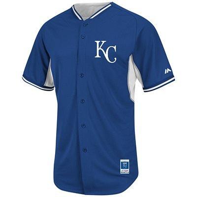 Kansas City Royals MLB Men's Big and Tall Batting Practice Jersey (4XL)