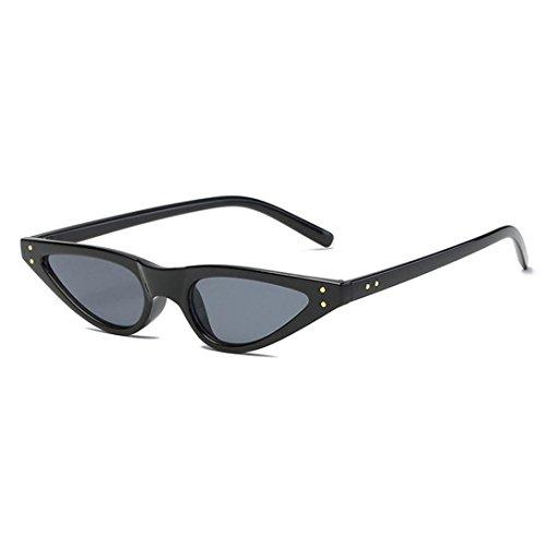 TOOPOOT 2018 Vintage Retro Unisex Eyes Shades Sunglasses Polarized Metal Frame Outdoor - Sunglasses Width Frame