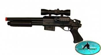 m47b2 airsoft tactical shotgun(Airsoft Gun) by double eagle