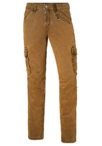 Bentz Pantalones Marrón Timezone Brown Regular ocher 6201 Para Hombre 1F55zq