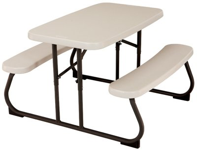 Lifetime-Products-80094-Kids-Picnic-Table-Almond-Polyethylene-Steel-325-x-19-In