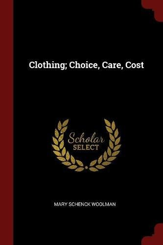 Download Clothing; Choice, Care, Cost PDF ePub book