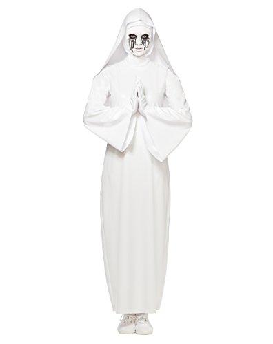 [Spirit Halloween Adult Nun Costume - American Horror Story: Asylum,White,L/XL] (Halloween Costumes At Spirit Halloween)