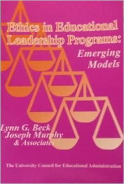 Ethics in educational leadership programs: Emerging models