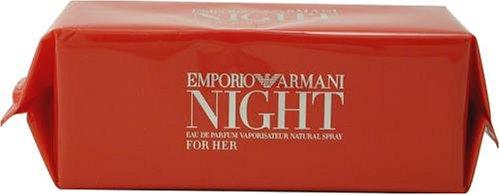 Emporio Armani White - Emporio Armani Night By Giorgio Armani For Women. Eau De Parfum Spray 1.7 Ounces