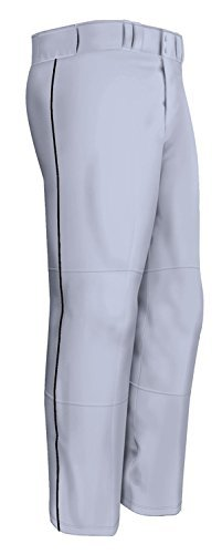 Easton Quantum Plus (Piped) Baseball Pants, Gray, Small by Easton