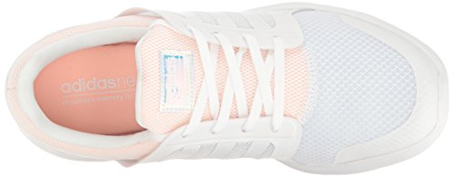 Adidas Neo Donna Cloudfoam Xpression W Scarpa Da Corsa Bianco / Bianco / Foschia Corallo