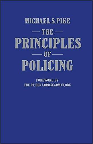 Sir Robert Peel's Policing Principles
