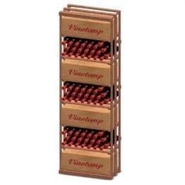 Vinotemp Case Bin 153-Bottle Wine Rack Kit by Vinotemp