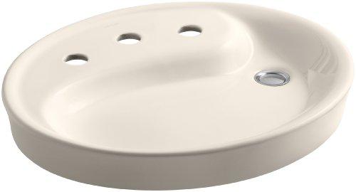 - KOHLER K-2354-8-55 Yin Yang Wading Pool Bathroom Sink with 8