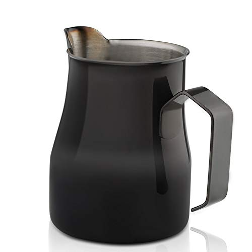 FIOLTY 1pc 350ml Pitcher Barista Craft Stainless steel art: Multicolor-350ml