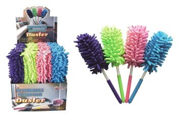 Diamond Visions 01-0946 Extendable Microfiber Duster in Assorted Colors (2 Dusters)