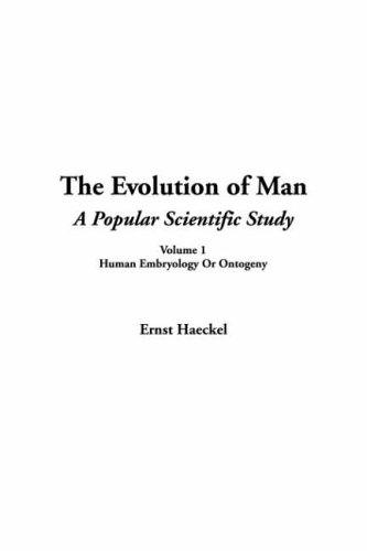 The Evolution of Man, V1 PDF