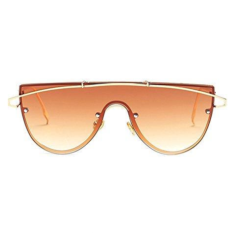 Película De Gafas Pieza Protección Gafas Nuevas Una 2018 De Océano 1 3 UV De Europea De Personalidad Sol De Sol Océano Tendencia De Americana Lente Y IIPxBq7Uw