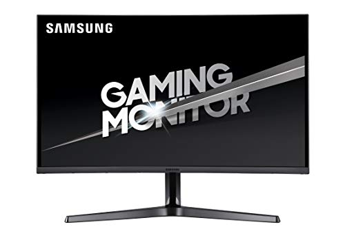 Samsung CJG5 Series 27-Inch WQHD Curved Gaming Monitor (LC27JG50QQNZA), Dark Blue Grey ()