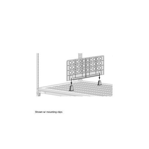 Metro MUD18 MetroMaxQ HDPE Universal Shelf Divider, 18