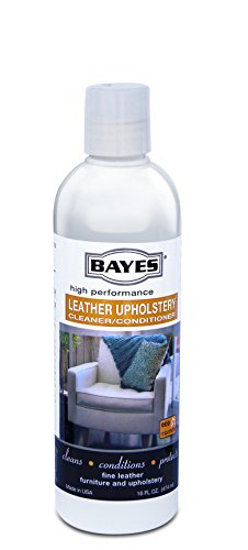 Bayes Premium High Performance Non Toxic Leather Upholstery Cleaner and Conditioner - 16 oz - Prevents Drying, Cracking or Fading of Leather Couches, Car Seats, Shoes, Purses, Pack of 6 by Bayes (Image #7)