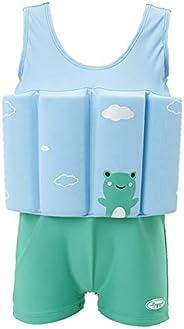 IDOPIP Kids Boys Girls Floatation Swimsuit with Adjustable Buoyancy Baby Float Suit