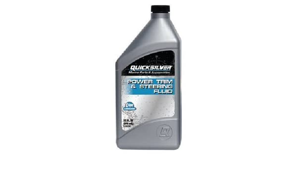 Mercurio/Quicksilver Partes * PWR Trim/Steer líquido qt 92 – 858075q01 por Quicksilver: Amazon.es: Coche y moto