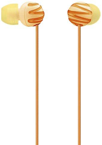 Sony MDR-EX25LP/D In-Ear Buds EX Monitor Headphones MDREX25LP Orange /GENUINE