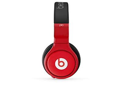 Beats Pro Over-Ear Wired Headphone - Lil Wayne Red/Black (Certified Refurbished)