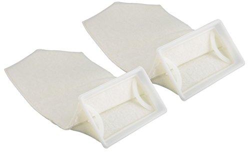 2 Pack - 4.5 Inch 200 Micron - Aquarium Felt Filter Bags -7x4.5