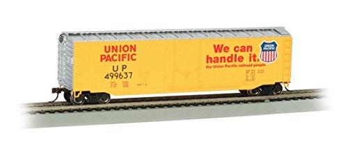 - Bachmann Trains 50' Plug Door Box Car - Union Pacific #499637 - HO Scale