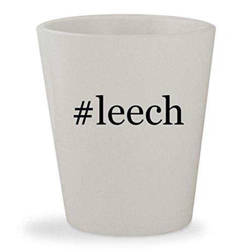 Price comparison product image #leech - White Hashtag Ceramic 1.5oz Shot Glass