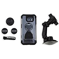 iPhone 6 Car Mount Kit by Rokform, Includes Windshield Phone Holder, Magnetic Phone Mount, and Mountable Protective Case - Amazon Exclusive