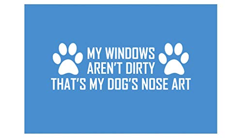 DesignsThatStick Dog Nose Art Vinyl Sticker Paw Print Decal 7