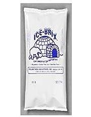 Polar Tech IB 8 Ice Brix Refrigerant Packs, Standard Leakproof, 8oz Capacity (Case of 36)