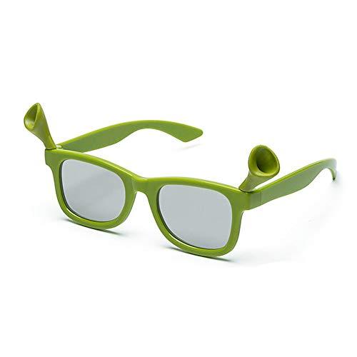 Union Power- 3D Kids Shrek Glasses with Free Glasses case| Kid Cinema 3D Glasses for LG 3D TVs, Passive Circular Polarized 3D Glasses, Children Cosplay