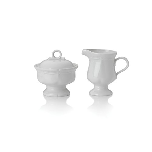 - Mikasa French Countryside Sugar and Creamer Set