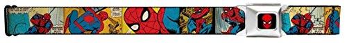 Spiderman Comic Panels Seatbelt Belt
