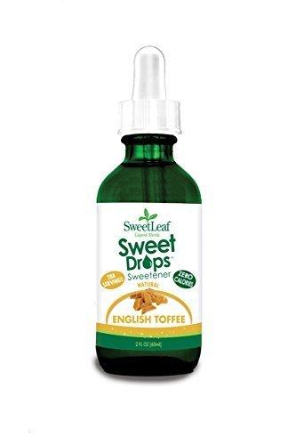- SweetLeaf Stevia 2 oz (English Toffee)