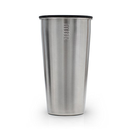 MiiR Insulated Tumbler with Lid, Stainless, 12-Ounce