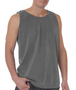 Comfort Colors Ringspun Garment-Dyed Tank M GREY by Comfort Colors