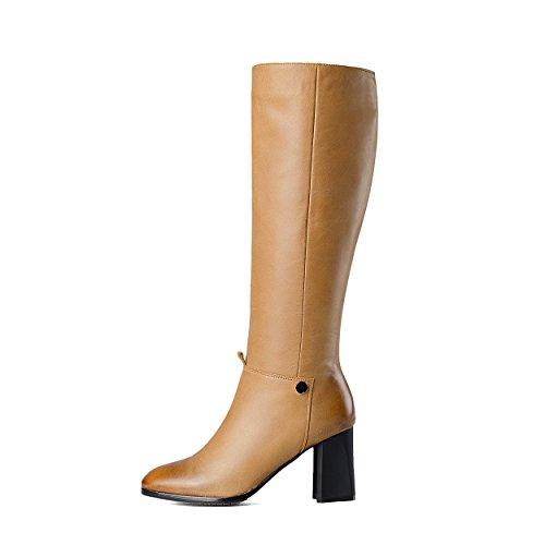 Nine SevenKnee High Boots - Botas mujer amarillo