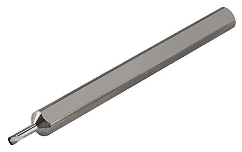 Metric Dimensions 2.00 mm Maximum Bore Depth Micro 100 MBBM-005020 Miniature Right Hand Boring Tool Solid Carbide Tool 0.5 mm Minimum Bore Diameter 3 mm Shank Diameter 38 mm Overall Length