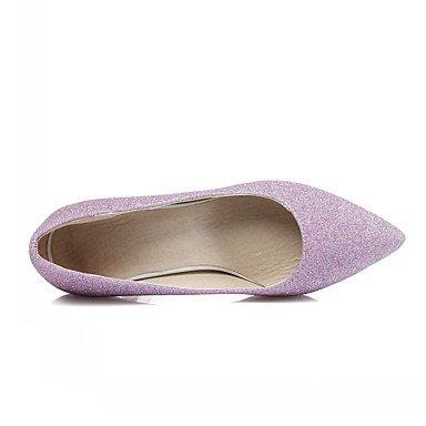 pwne Las Mujeres Sandalias De Verano Caen Club Zapatos Zapatos Formales Comfort Novedad Oficina Exterior De Piel Sintética Pu &Amp; Carrera Parte &Amp; Casual Vestido De Noche US11 / EU43 / UK9 / CN44