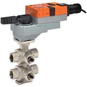B315-175-200+LRX24-MFT CCV | 0.5'' | 6 Way | 1.75 | 2.00 Cv | w/Non-Spring | 24V | MFT