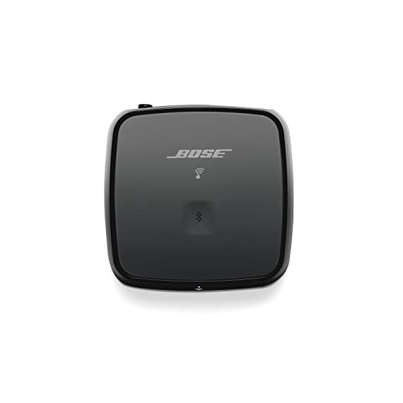 Bose SoundTouch Wireless Link Adapter Black 2 Works with Alexa for voice control (Alexa device sold separately). Connects to any existing stereo or home theatre system to stream music wirelessly Uses your home Wi-Fi network or Bluetooth devices for easy access to Spotify, Pandora and Amazon music