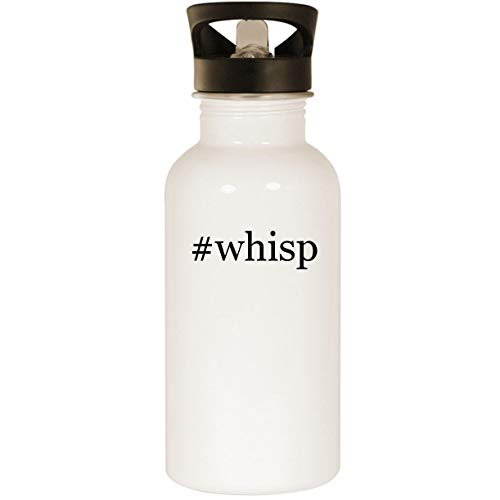 #whisp - Stainless Steel Hashtag 20oz Road Ready Water Bottle, -